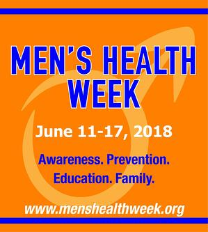 Men's Health Week 2018
