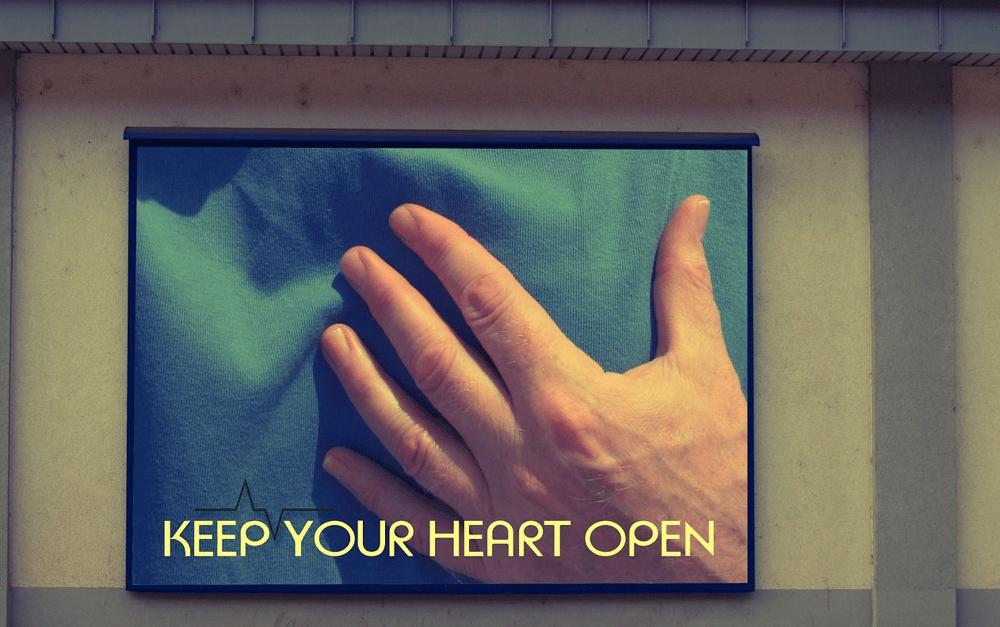 keep heart open