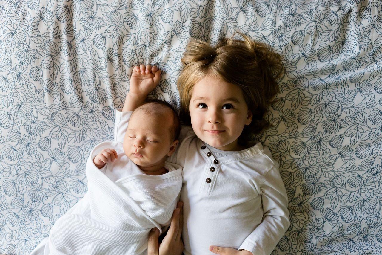 snuggly children