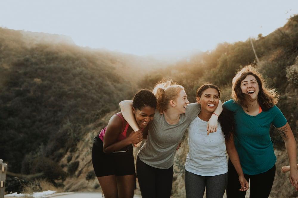 women outdoors